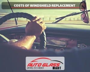 costs of windshield replacement